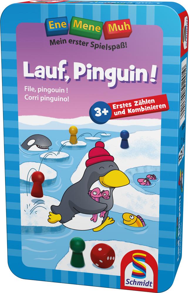Schmidt Spiele Ene Mene Muh Zahlenlernspiel Lauf Pinguin! 51291