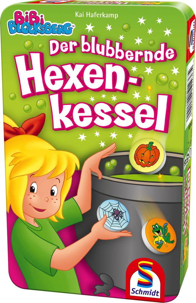 Schmidt Spiele Reisespiel Suchspiel Bibi Blocksberg Blubbernder Hexenkessel 51436