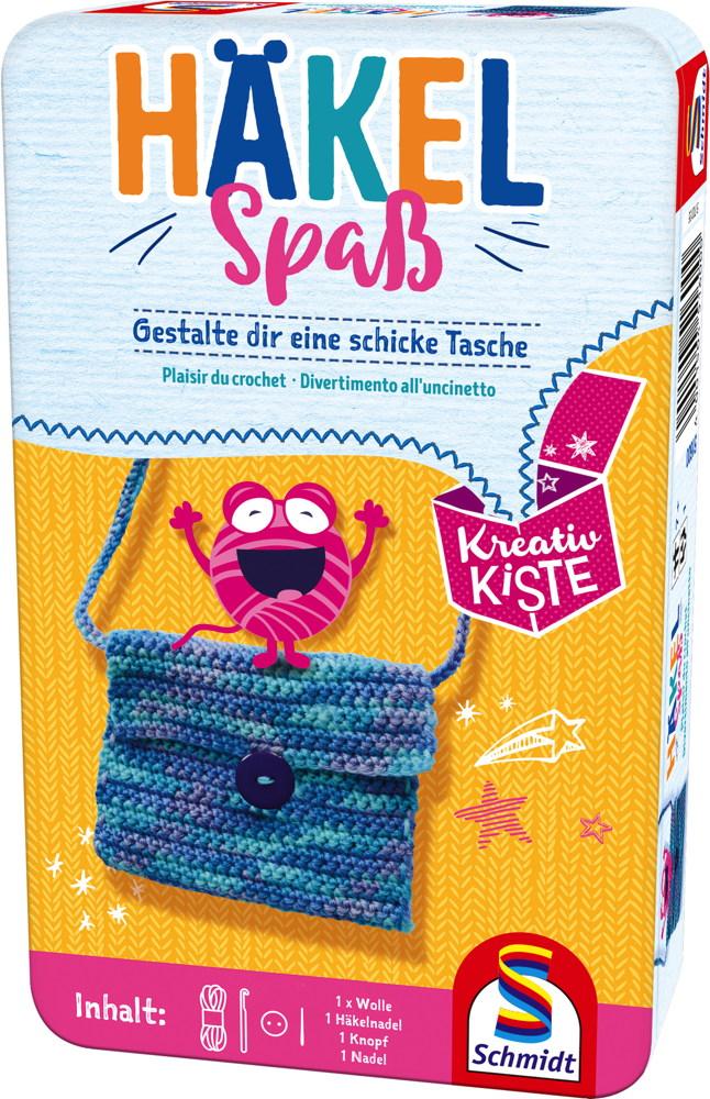 Schmidt Spiele Kreativkiste Häkelspaß 51600