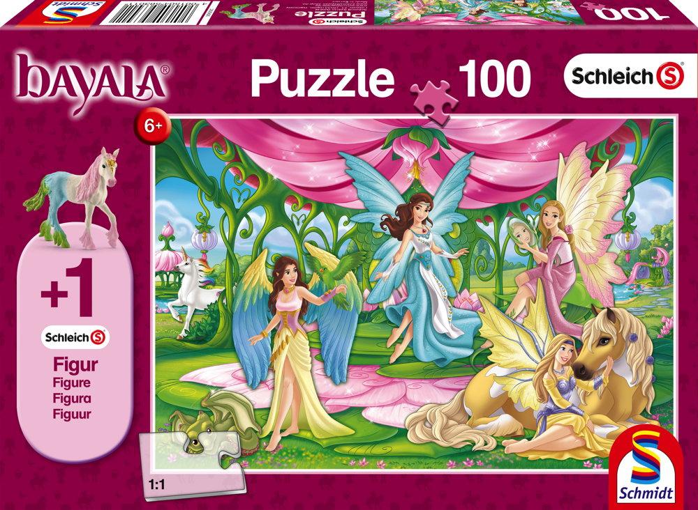100 Teile Schmidt Spiele Kinder Puzzle Bayala Im Kronsaal von Bayala 56301