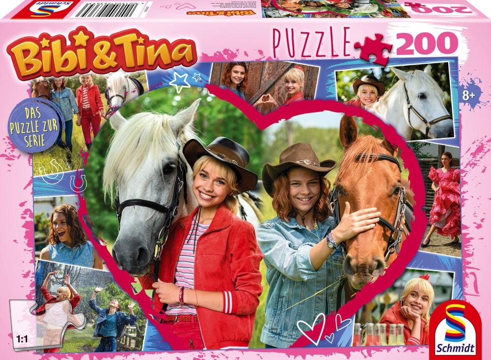 200 Teile Schmidt Spiele Kinder Puzzle Bibi & Tina Pferdefreundschaft 56365