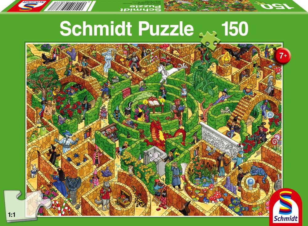 150 Teile Schmidt Spiele Kinder Puzzle Labyrinth 56367