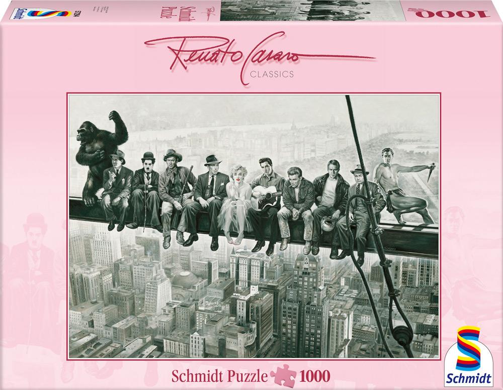 1000 Teile Schmidt Spiele Puzzle Renato Casaro Drehpause 57294