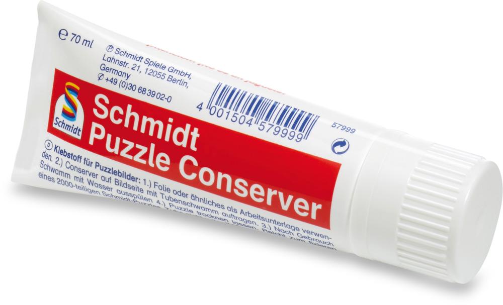 Schmidt Spiele Puzzle Conserver Spezialkleber 70 ml 57999