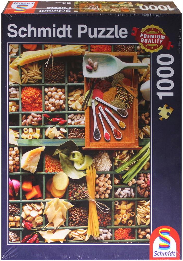 1000 Teile Schmidt Spiele Puzzle Küchen-Potpourri 58141