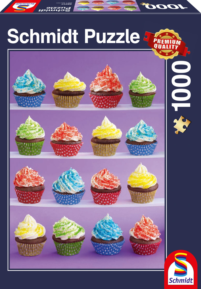 1000 Teile Schmidt Spiele Puzzle Cupcakes-Spaß 58217