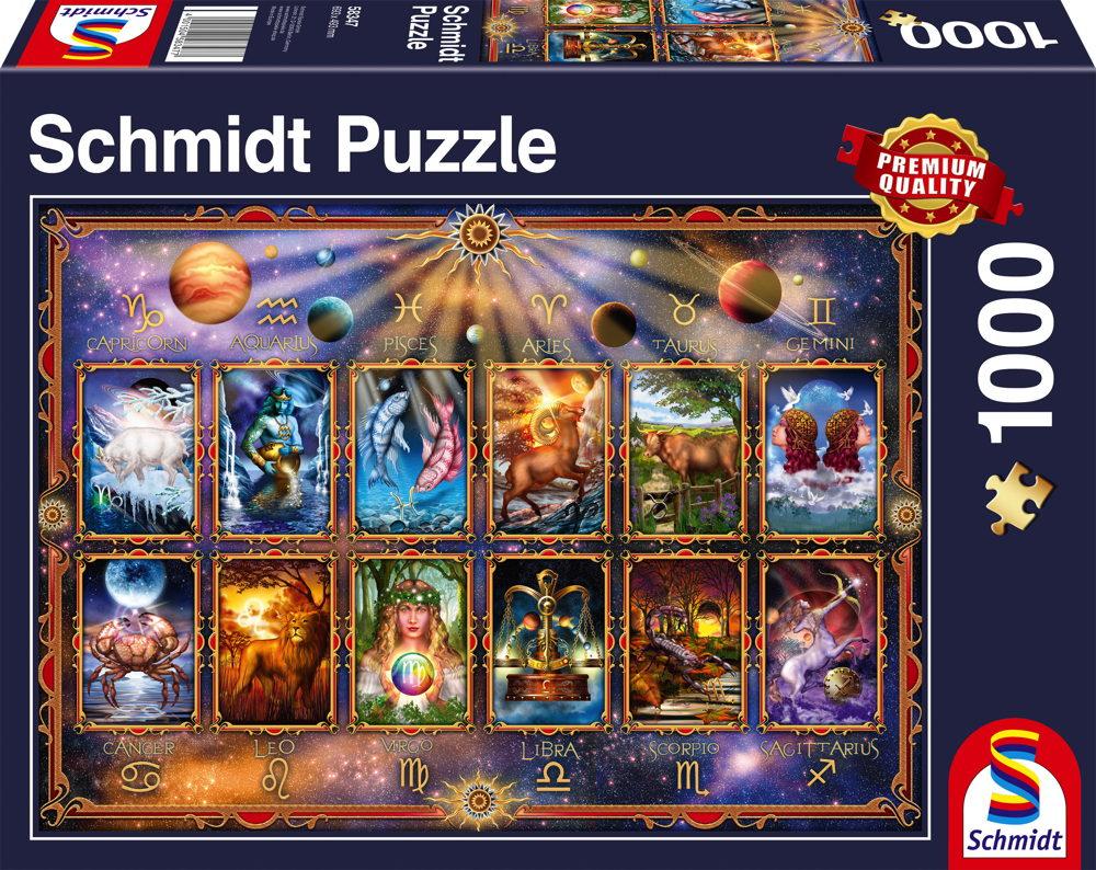 1000 Teile Schmidt Spiele Puzzle Sternzeichen 58347