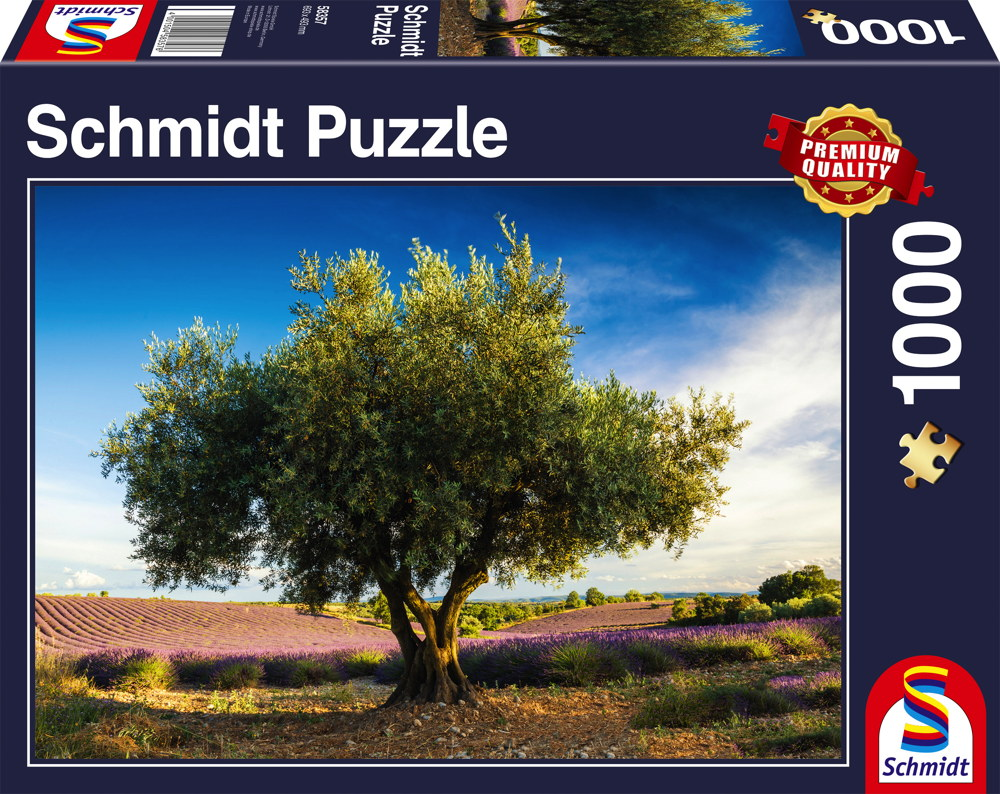1000 Teile Schmidt Spiele Puzzle Olivenbaum in der Provence 58357