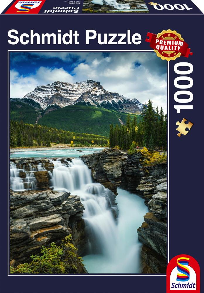 1000 Teile Schmidt Spiele Puzzle Athabasca Wasserfall, Kanada 58360