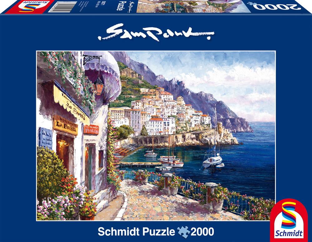 2000 Teile Schmidt Spiele Puzzle Sam Park Amalfi am Nachmittag 59271