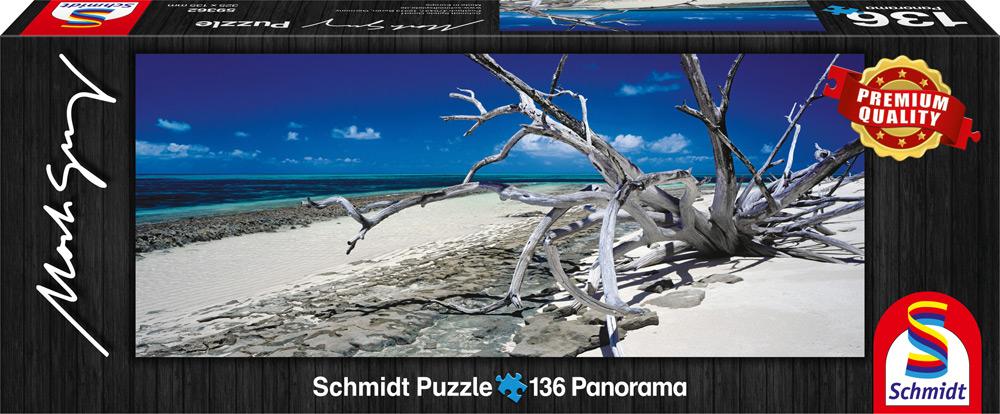 136 Teile Schmidt Spiele Puzzle Mark Gray Green Island Queensland, Australia 59362
