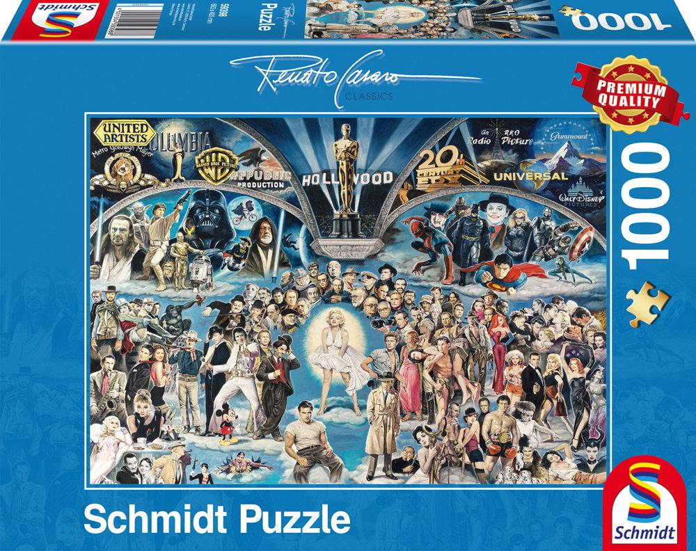 1000 Teile Schmidt Spiele Puzzle Renato Casaro Hollywood 59398