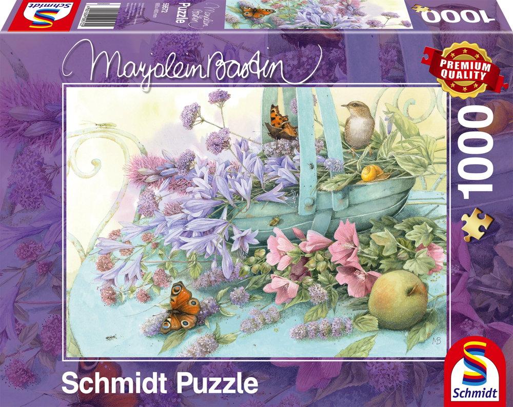 1000 Teile Schmidt Spiele Puzzle Marjolein Bastin Blumenkorb 59572