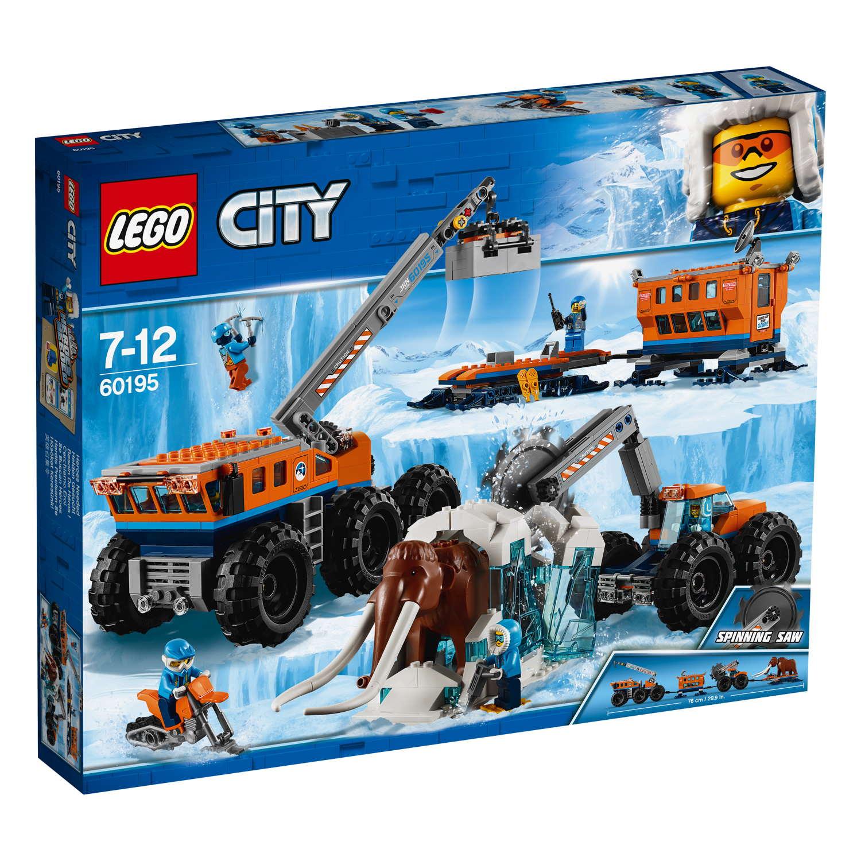 LEGO® City Arktis Mobile Forschungsstation 786 Teile 60195