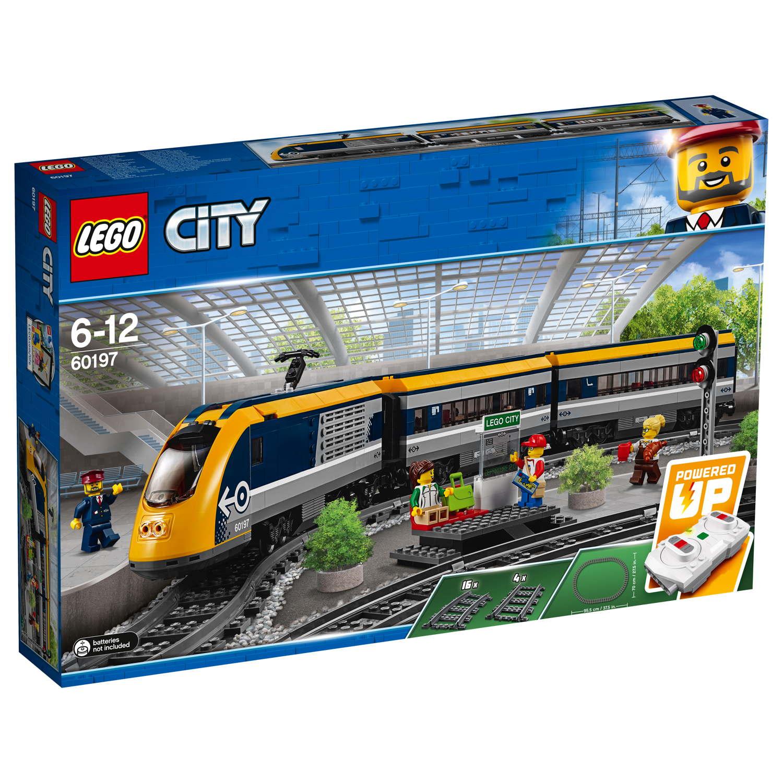 LEGO® City Eisenbahn Personenzug 677 Teile 60197