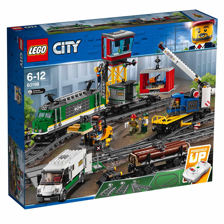 LEGO® City Eisenbahn Güterzug 1226 Teile 60198