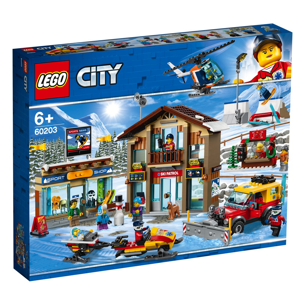 LEGO® City Ski Resort 806 Teile 60203