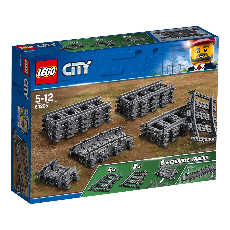 LEGO® City Eisenbahn Schienen 20 Teile 60205