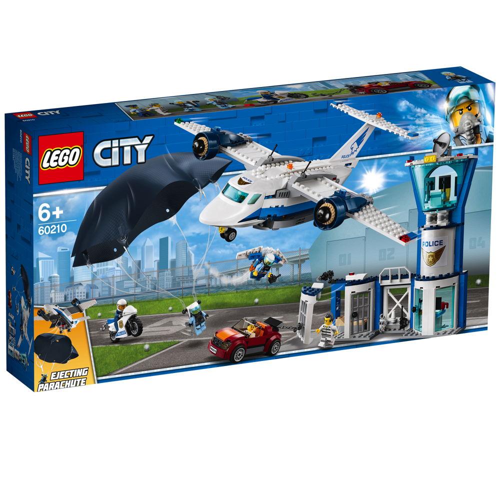 LEGO® City Polizei Fliegerstützpunkt 529 Teile 60210