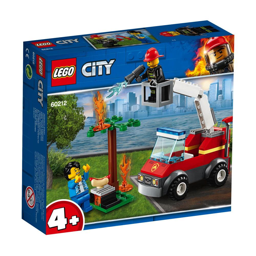 LEGO® City Feuerwehr beim Grillfest 64 Teile 60212