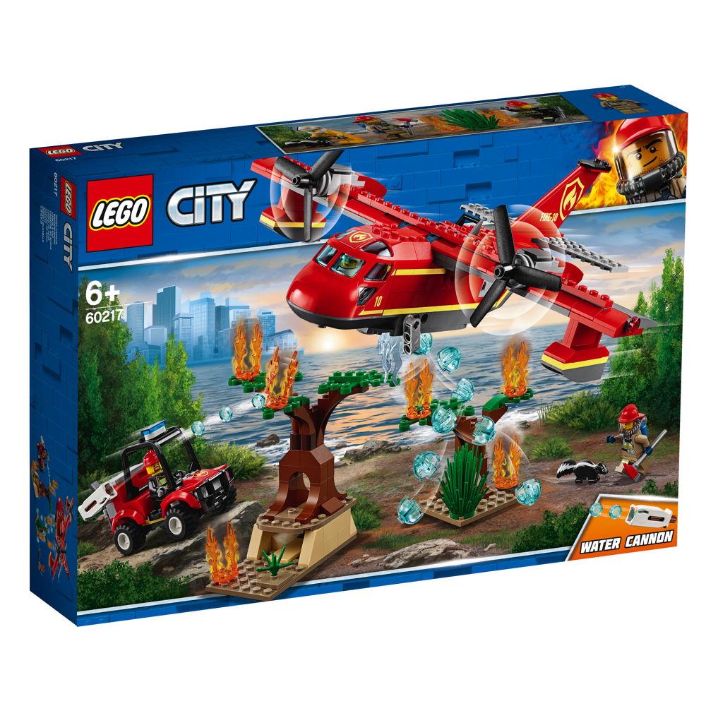 LEGO® City Feuerwehr Löschflugzeug der Feuerwehr 363 Teile 60217