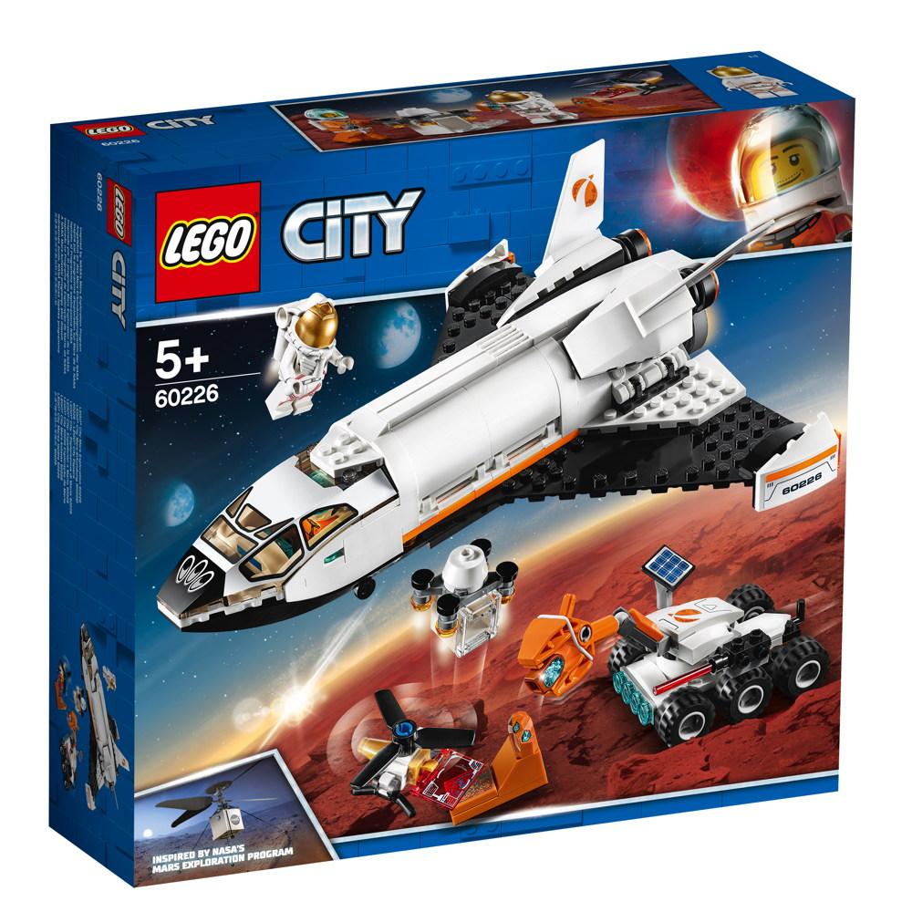 LEGO® City Mars-Forschungsshuttle 273 Teile 60226