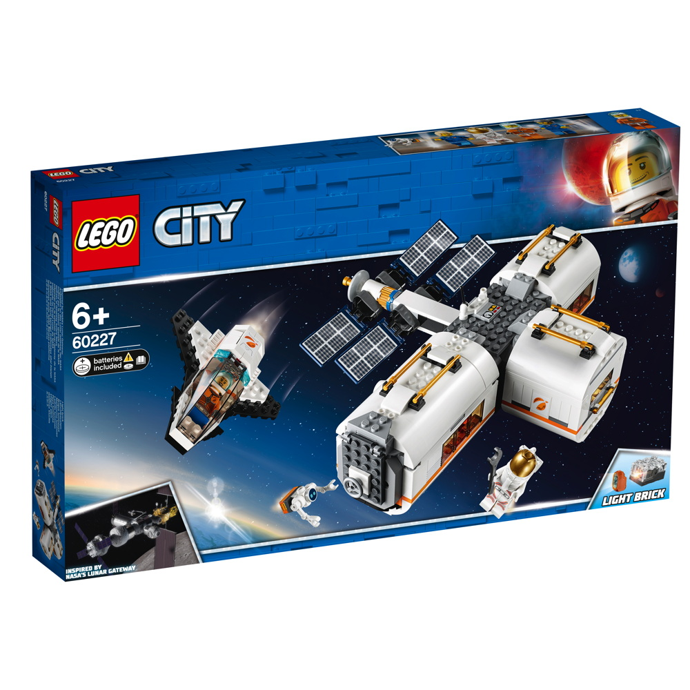 LEGO® City Mond Raumstation 412 Teile 60227