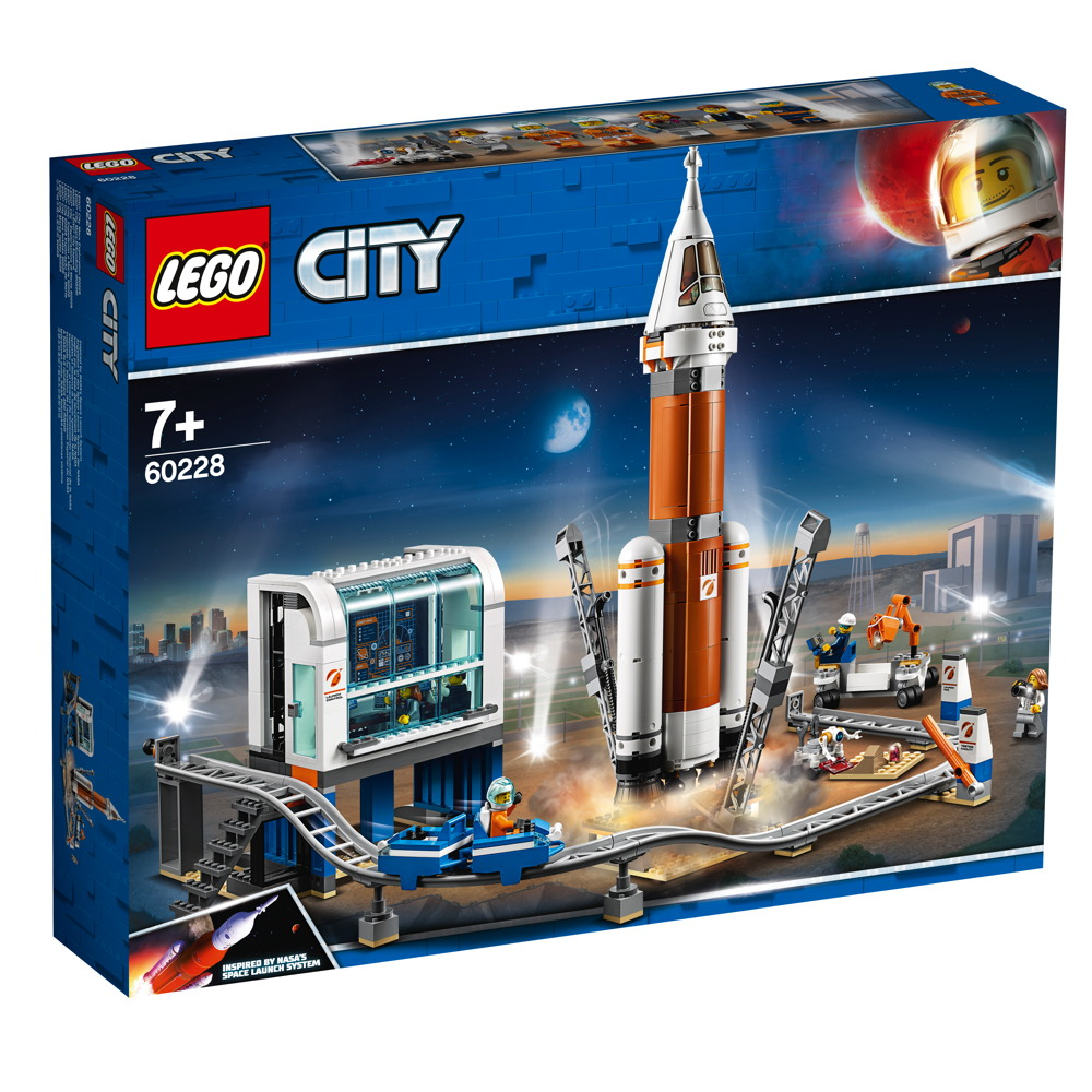 LEGO® City Weltraumrakete mit Kontrollzentrum 837 Teile 60228