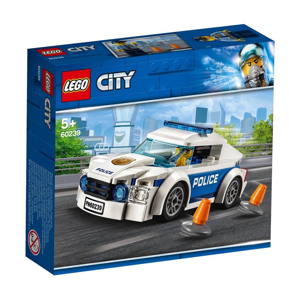 LEGO® City Polizei Streifenwagen 92 Teile 60239