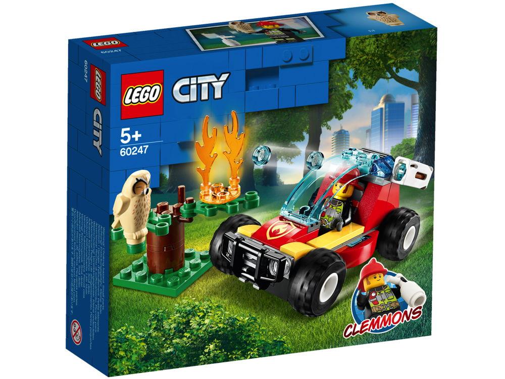 LEGO® City Waldbrand 84 Teile 60247