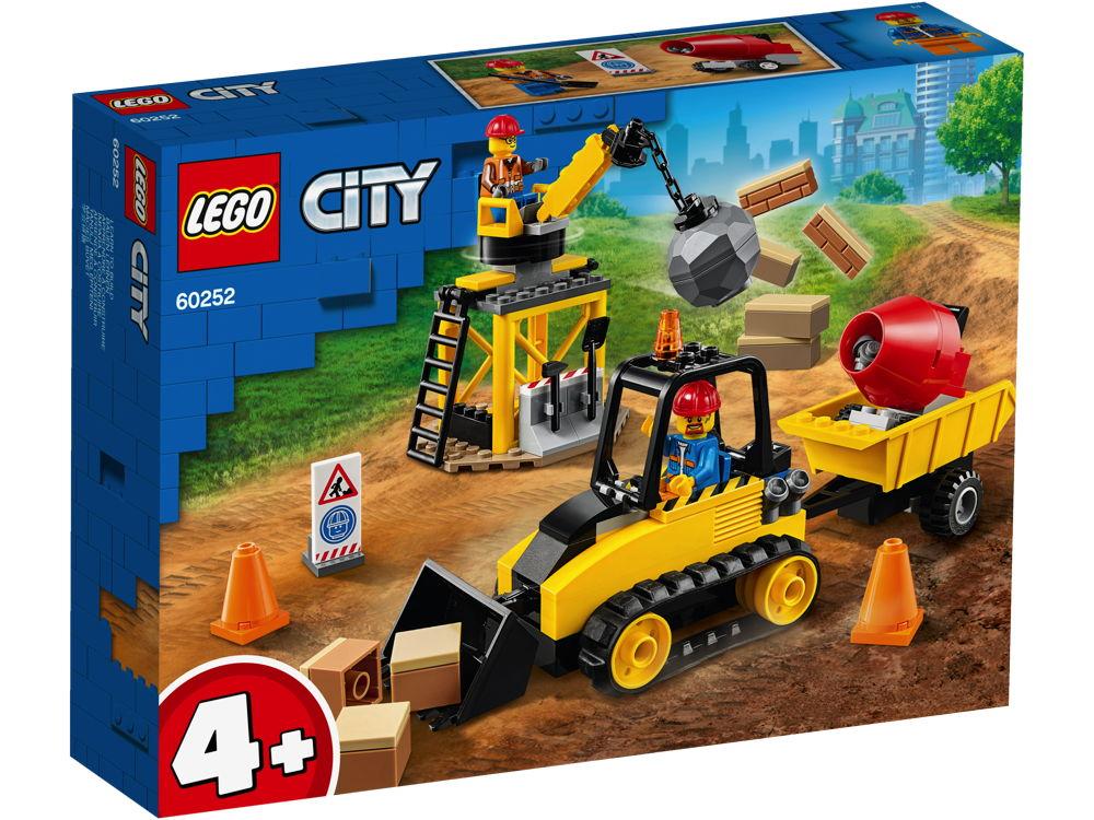 LEGO® City Bagger auf der Baustelle 126 Teile 60252