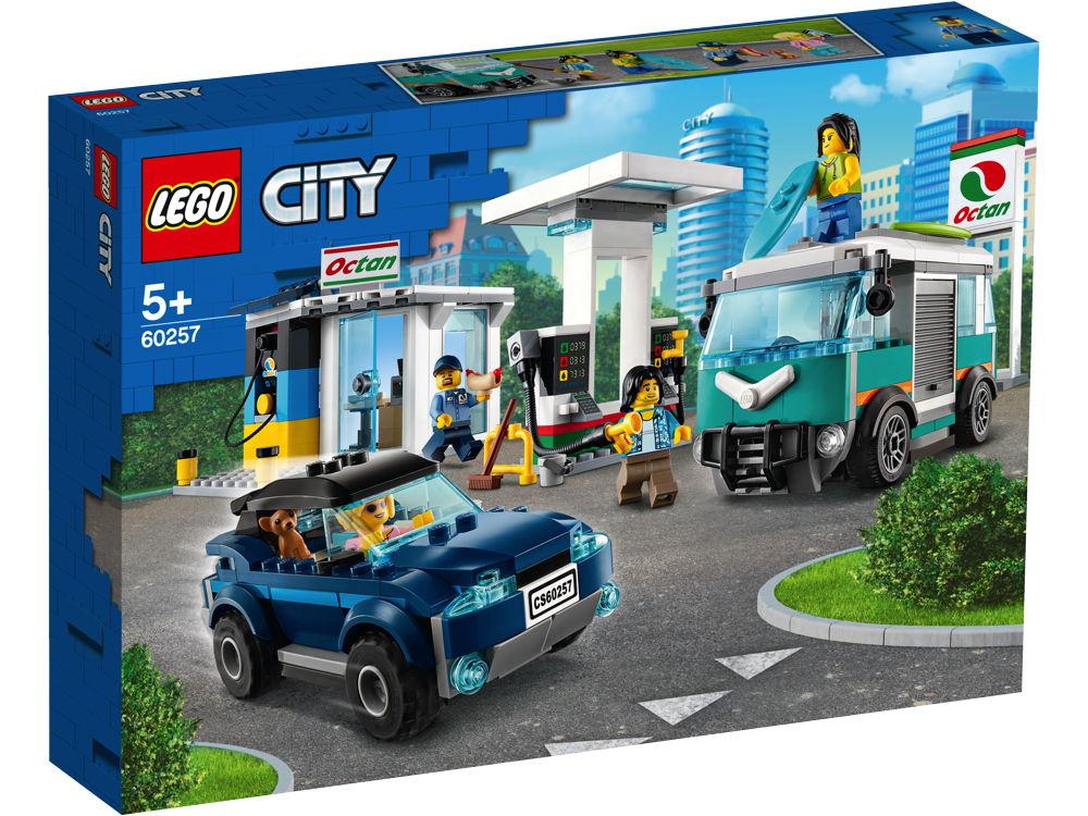 LEGO® City Tankstelle 354 Teile 60257