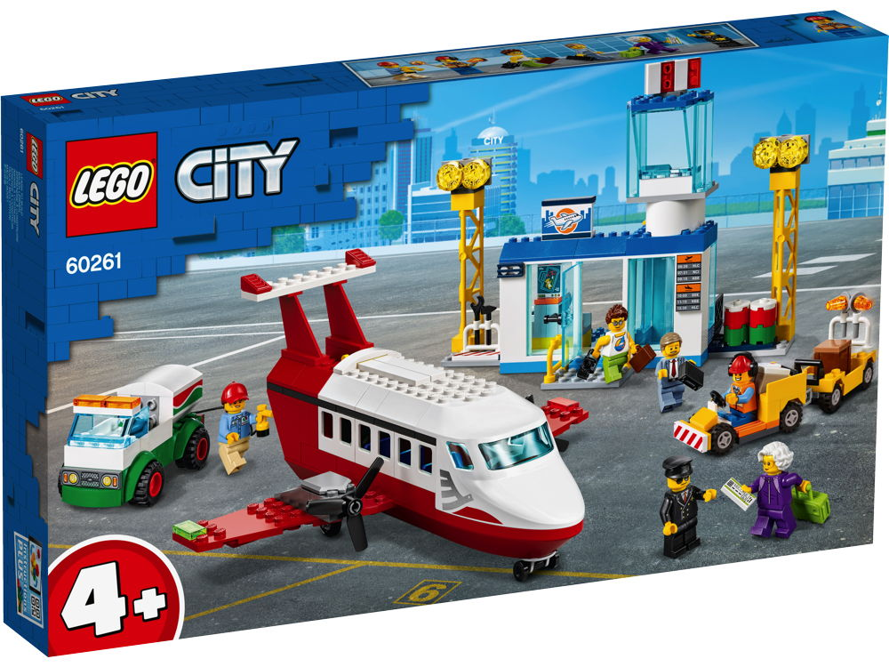 LEGO® City Flughafen 286 Teile 60261
