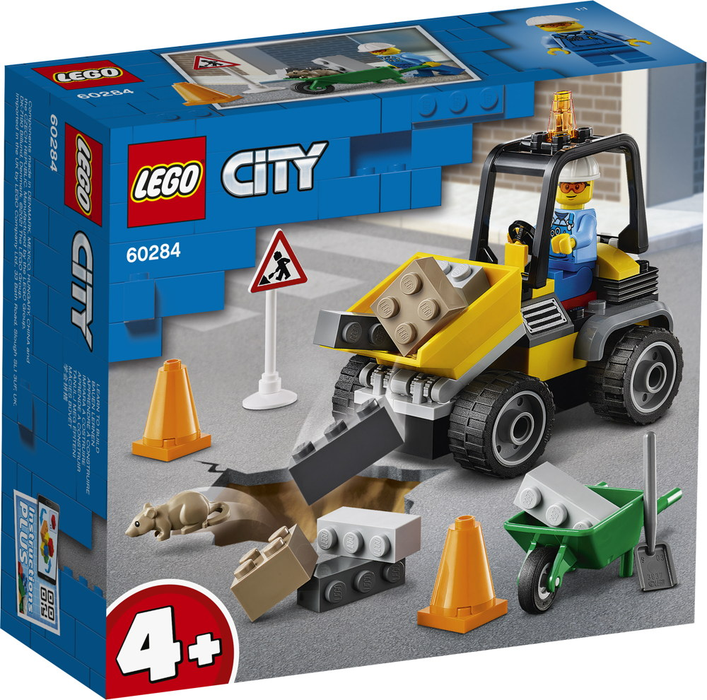 LEGO® City Baustellen-LKW 58 Teile 60284