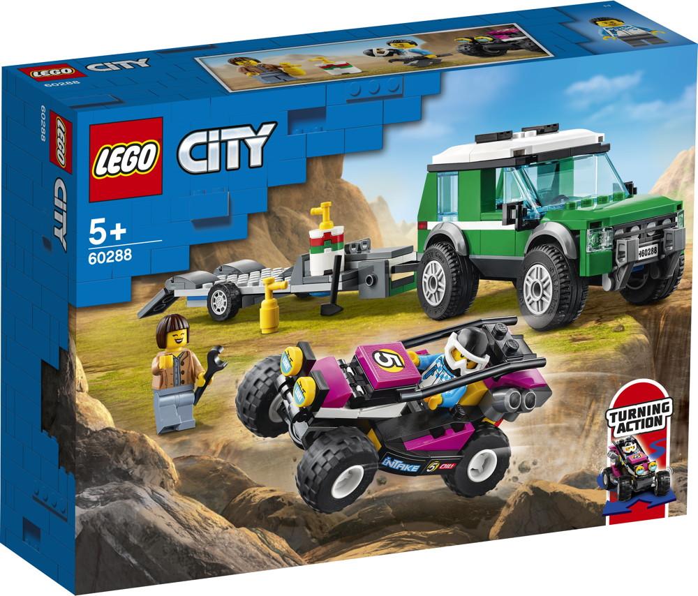 LEGO® City Rennbuggy-Transporter 210 Teile 60288
