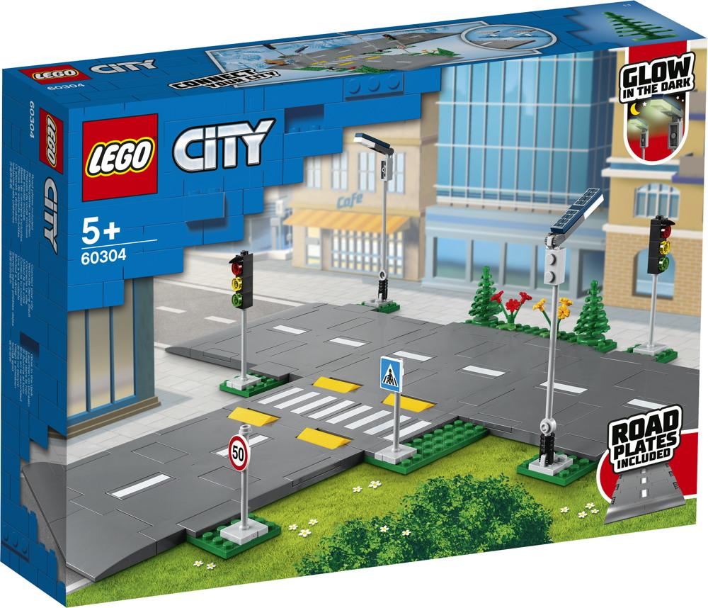 LEGO® City Straßenkreuzung mit Ampeln 112 Teile 60304
