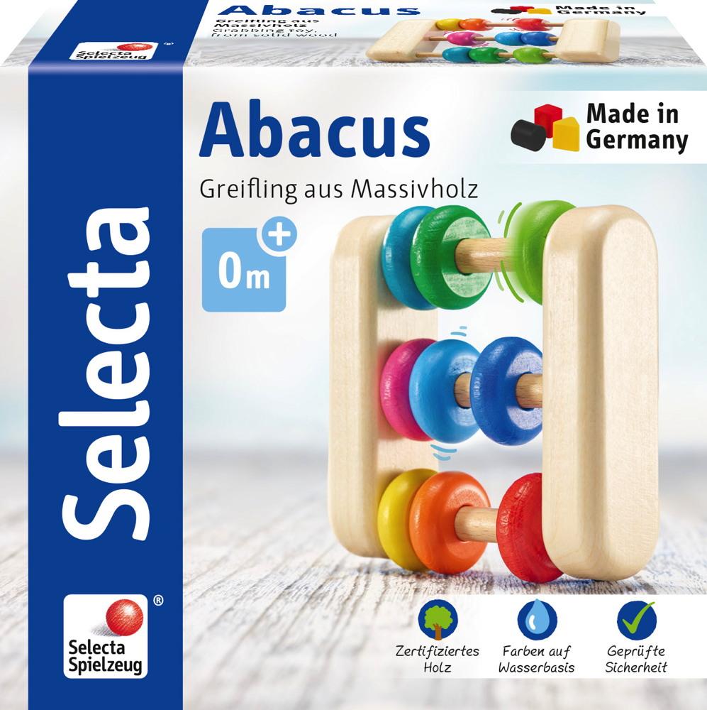 Selecta Babywelt Holz Greifling Abacus 61033