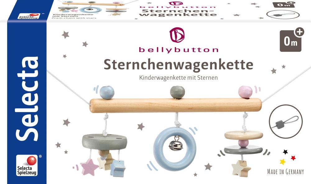 Bellybutton by Selecta Exklusic Holz Wagenkette Sternchenwagenkette 64016