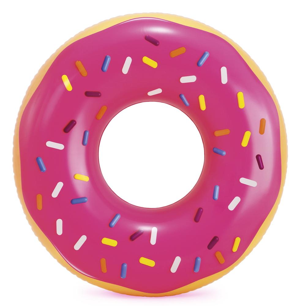 Intex Schwimmreifen Donut pink frosted Ř 99cm x 25cm ab 9 Jahren 56256NP