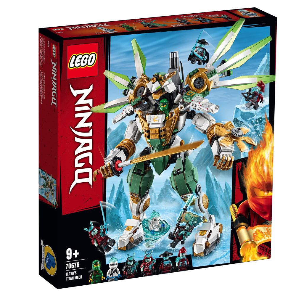 LEGO® NINJAGO Lloyds Titan-Mech 876 Teile 70676