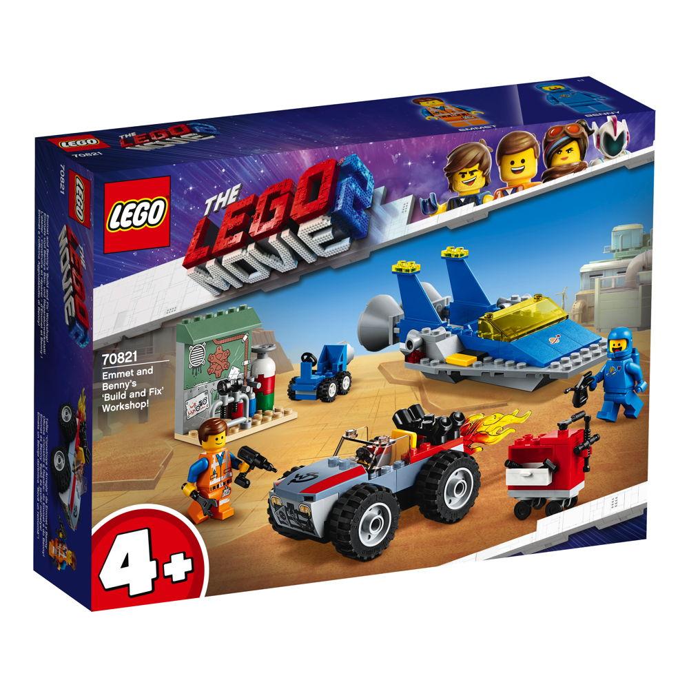 LEGO® The LEGO® Movie™ 2 Emmets und Bennys Bau- und Reparaturwerkstatt! 117 Teile 70821