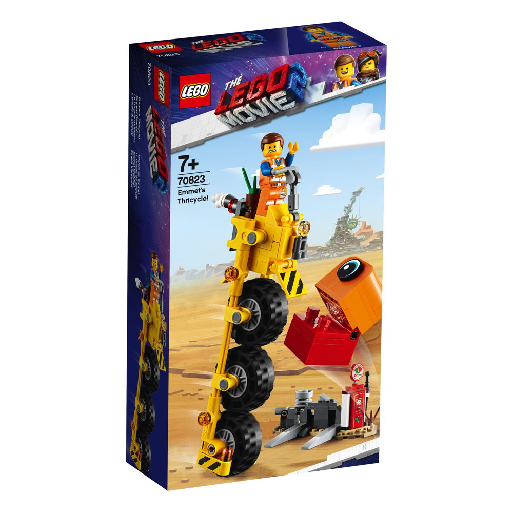 LEGO® The LEGO® Movie™ 2 Emmets Dreirad! 174 Teile 70823