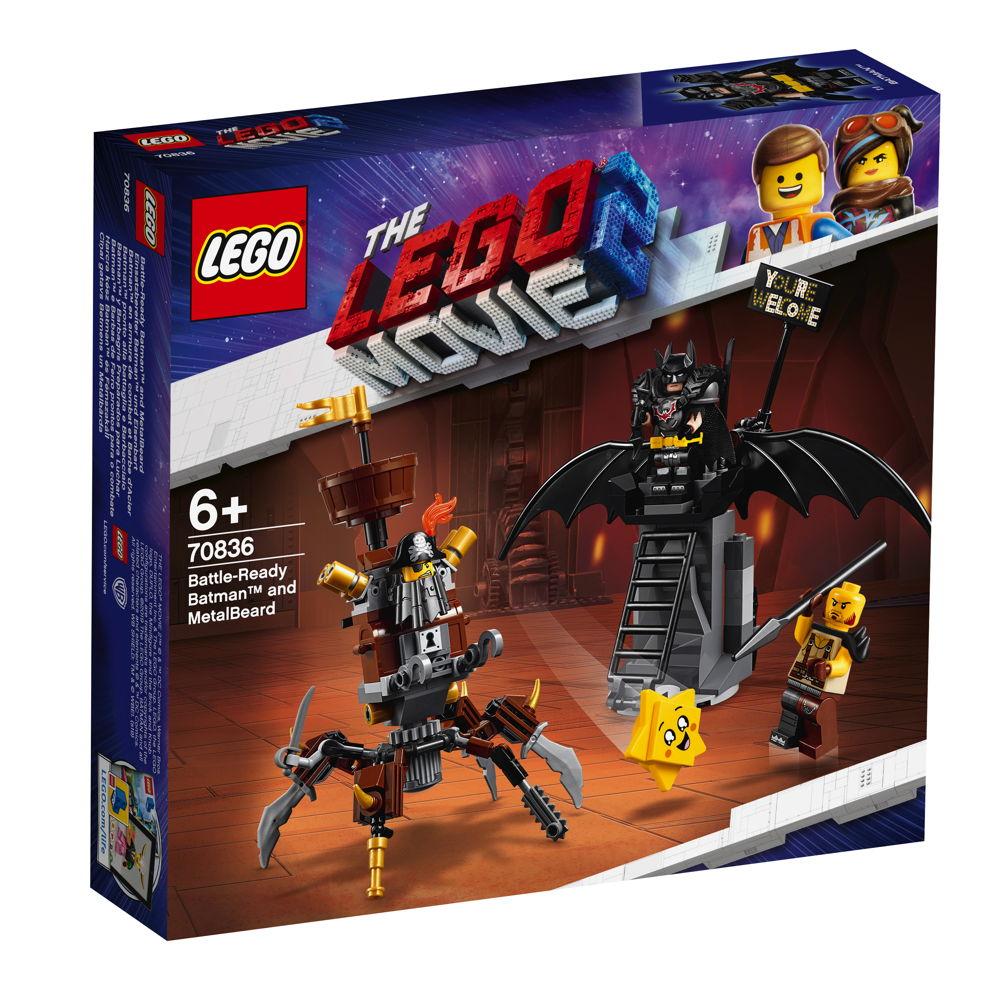 LEGO® The LEGO® Movie™ 2 Einsatzbereiter Batman™ und EisenBart 168 Teile 70836