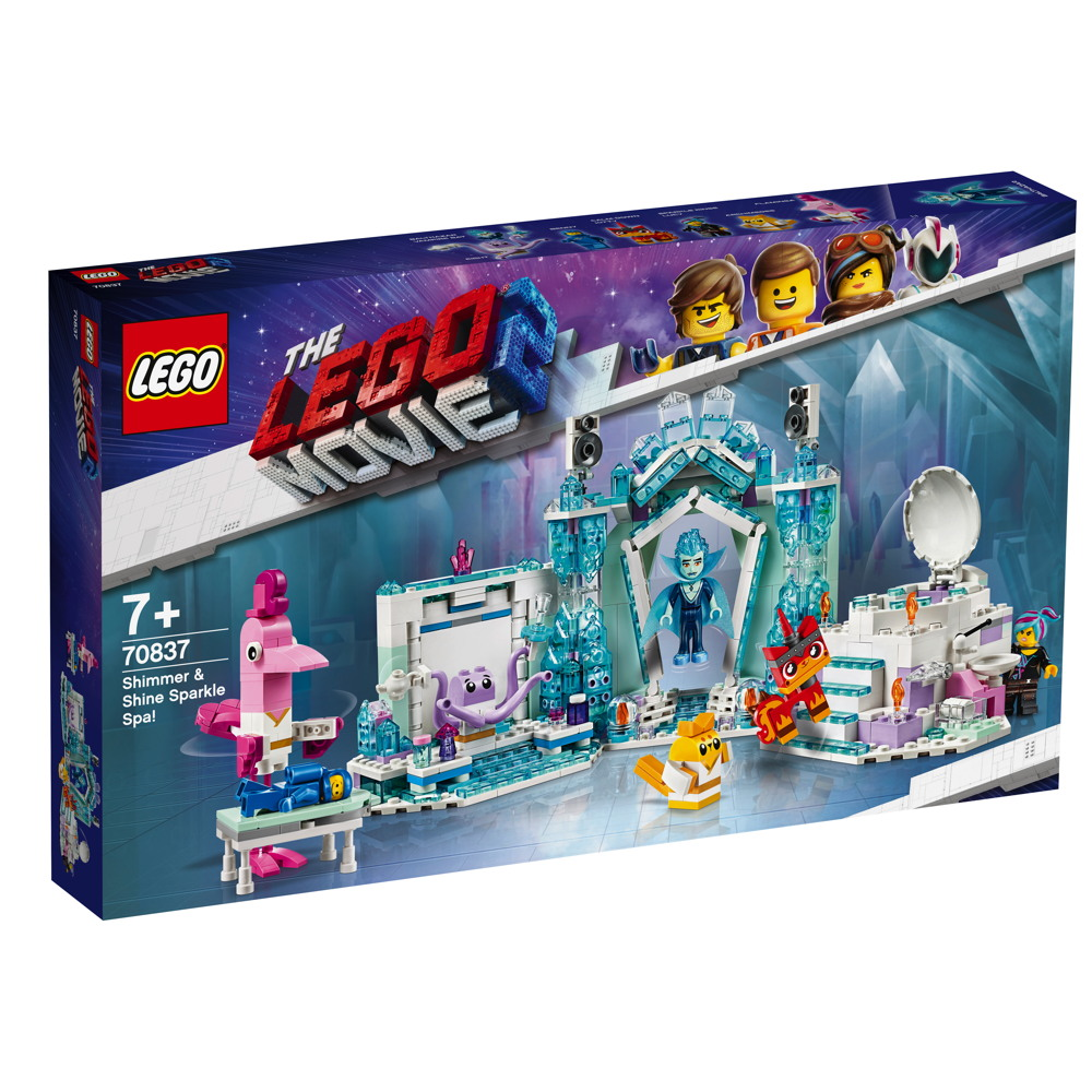 LEGO® The LEGO Movie™ 2 Schimmerndes Glitzer-Spa! 694 Teile 70837