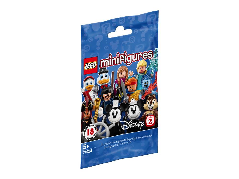 LEGO® Minifigures Die Disney Serie 2 1 Tüte mit 1 Figur 7 Teile 71024