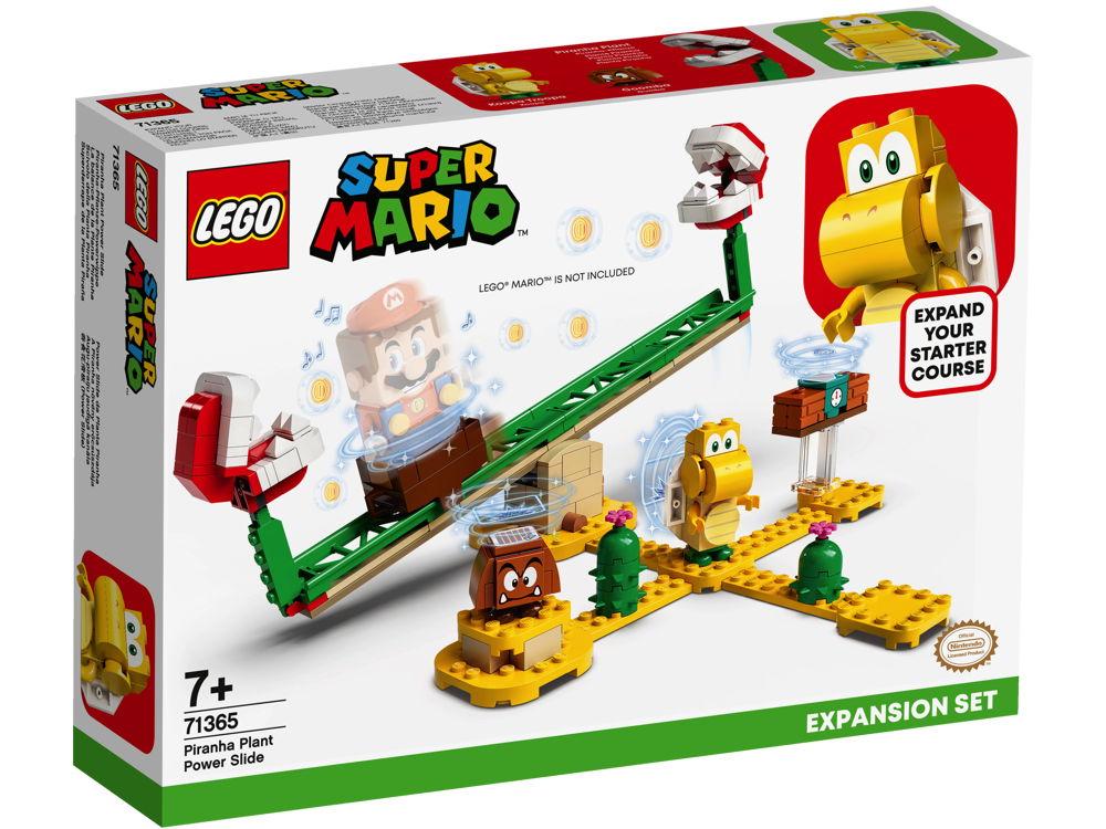 LEGO® Super Mario™ LEGO® Super Mario™ Piranha-Pflanze-Powerwippe – Erweiterungsset 217 Teile 71365