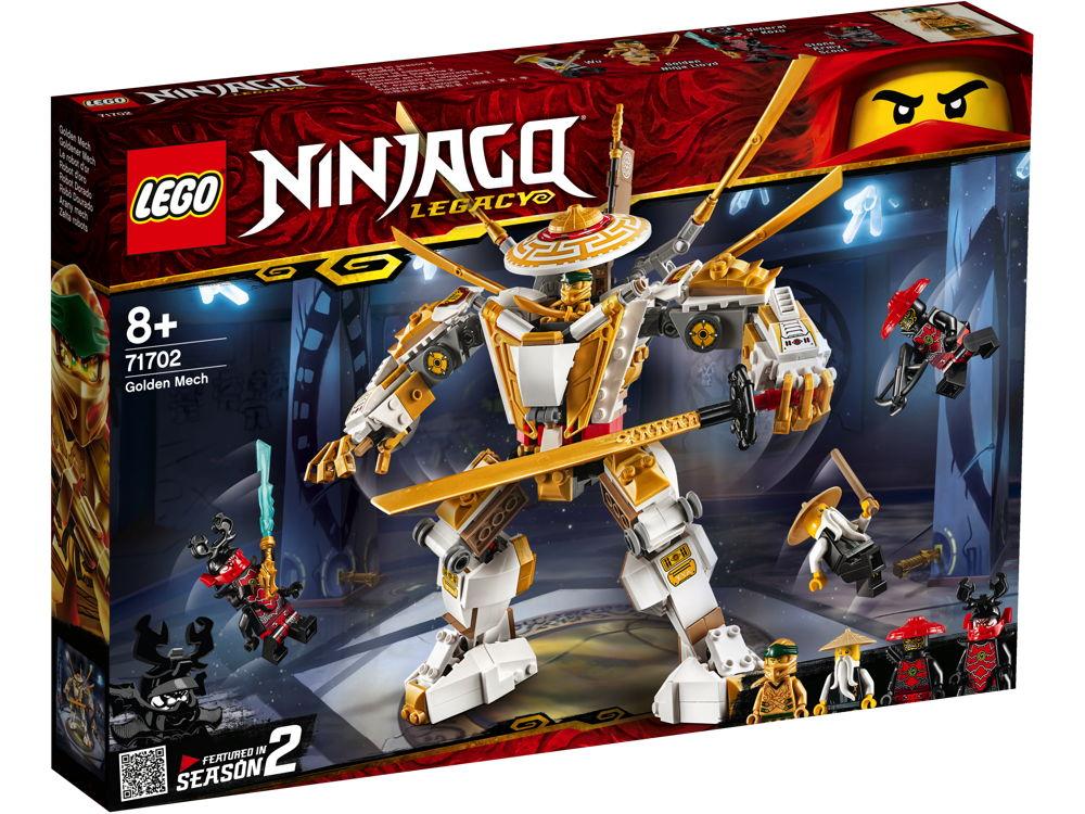 LEGO® NINJAGO Goldener Mech 489 Teile 71702