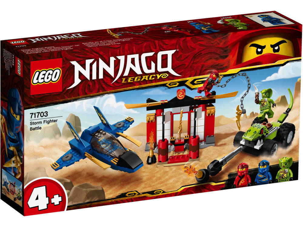 LEGO® NINJAGO Kräftemessen mit dem Donner-Jet 165 Teile 71703