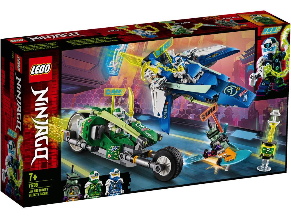 LEGO® NINJAGO Jay und Lloyds Power-Flitzer 322 Teile 71709