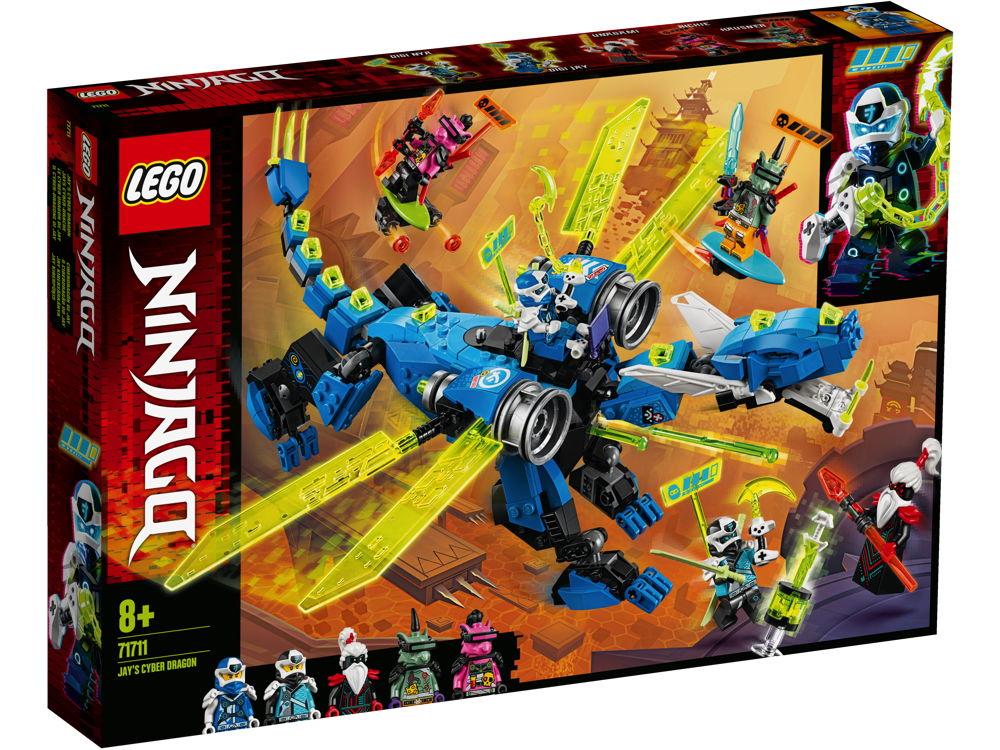 LEGO® NINJAGO Jays Cyber-Drache 518 Teile 71711